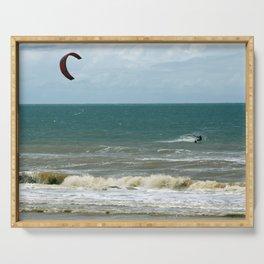Kite Surfer Serving Tray