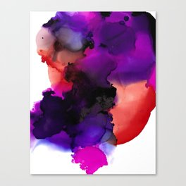 Purple Synesthesia Canvas Print