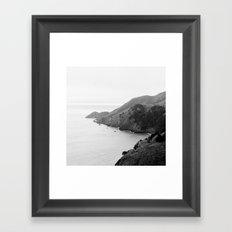 Golden Gate Lookout No. 2 Framed Art Print