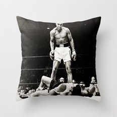 The Great Boxer Throw Pillow