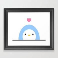 Penguin Love Framed Art Print