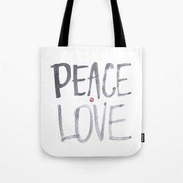 Peace Love Tote Bag