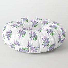 Lilacs: Syringa Floor Pillow
