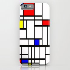 Mondrian inspired iPhone 6s Slim Case