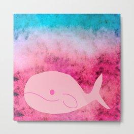 whale-363 Metal Print