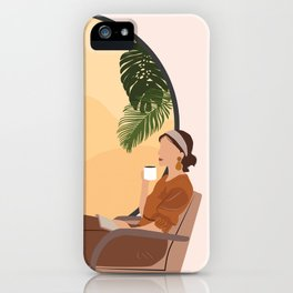 A Relaxing Afternoon iPhone Case