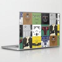 starwars Laptop & iPad Skins featuring Starwars combo by Alex Patterson AKA frigopie76