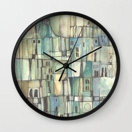 Urbe fragmentos N° 6 (City fragments N° 6) Wall Clock