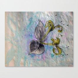 Honeysuckle small Canvas Print