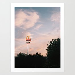 the golden arches Art Print