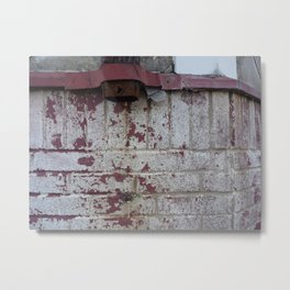 Rusty Downspout Metal Print