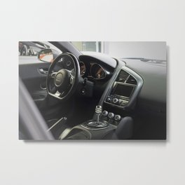 Gated Shifter Metal Print