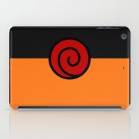 naruto iPad Cases featuring NARUTO SUIT by Bilqis