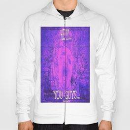 Hey You Guys Purple Urple Sloth  Hoody