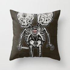 Twinsies Throw Pillow
