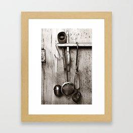 KITCHEN EQUIPMENT - Duplex Framed Art Print