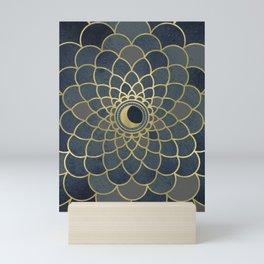 Mystical Moon Mandala Mini Art Print