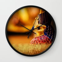 egypt Wall Clocks featuring Egypt by Marcus Meisler