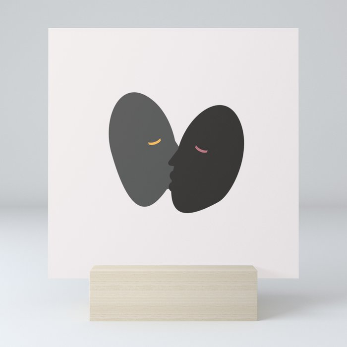 Wake Up Kiss Mini Art Print