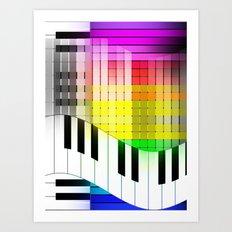 Feel the Jazz Art Print