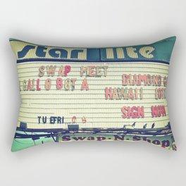 South Tacoma Swap Meet Rectangular Pillow