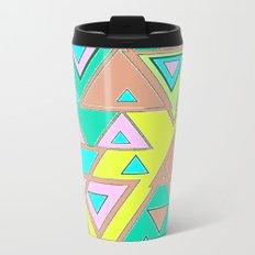 Triangles Metal Travel Mug