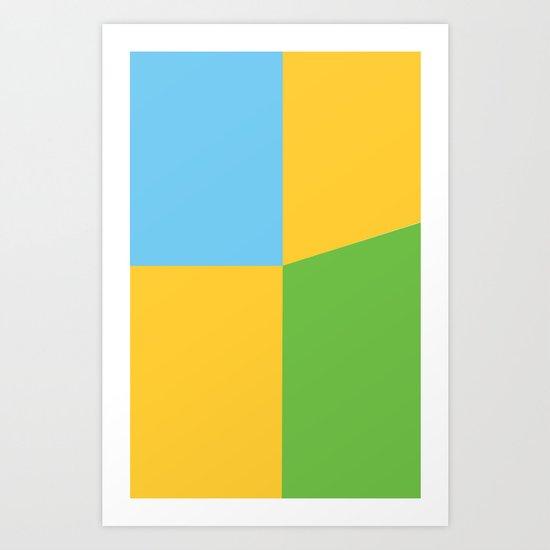 ComicCase_4 Art Print