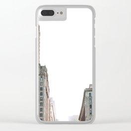 City Buildings Clear iPhone Case