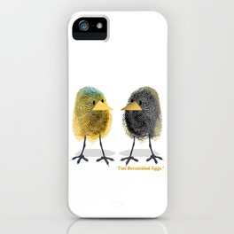 Two Scrambled Eggs - Different iPhone Case