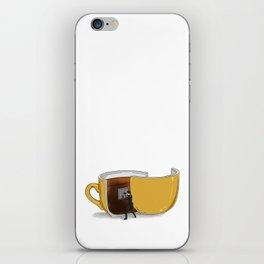 Coffee Confidential iPhone Skin