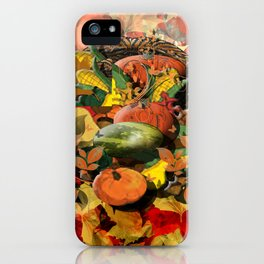 Horns of Plenty iPhone Case