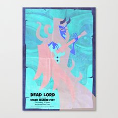Dead Lord Gig Poster Canvas Print