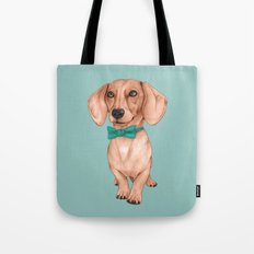 Dachshund, The Wiener Dog Tote Bag