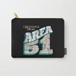Greetings From Area 51 Carry-All Pouch