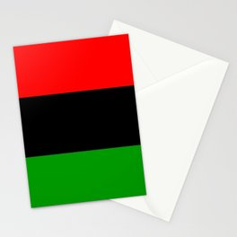 Red Black and Green Stationery Cards