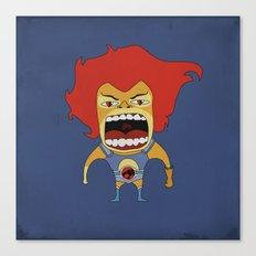 Screaming Lion-O Canvas Print