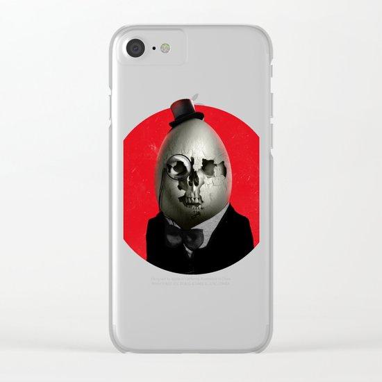 Humpty Dumpty Clear iPhone Case