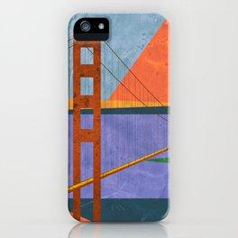Golden Gate Bridge II iPhone Case