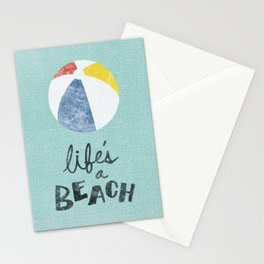 Life's a Beach. Stationery Cards