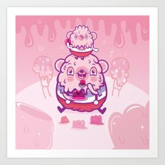 Jelly bear Art Print