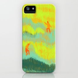 Through the Fields iPhone Case