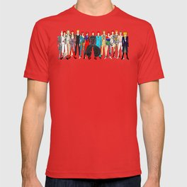 Gray Heroes Group Fashion Outfits T-shirt