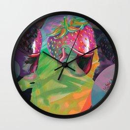 Trapper Keeper Wall Clock