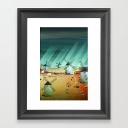 Glorious Days Framed Art Print