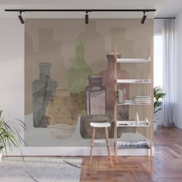 Deconstructed Coffee Wall Mural