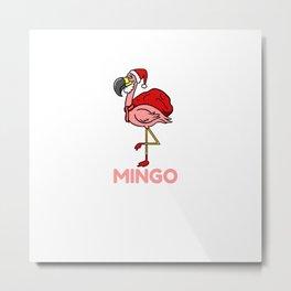Fa La La La Mingo For Christmas Season Metal Print