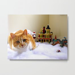 A Giant Among Us Metal Print