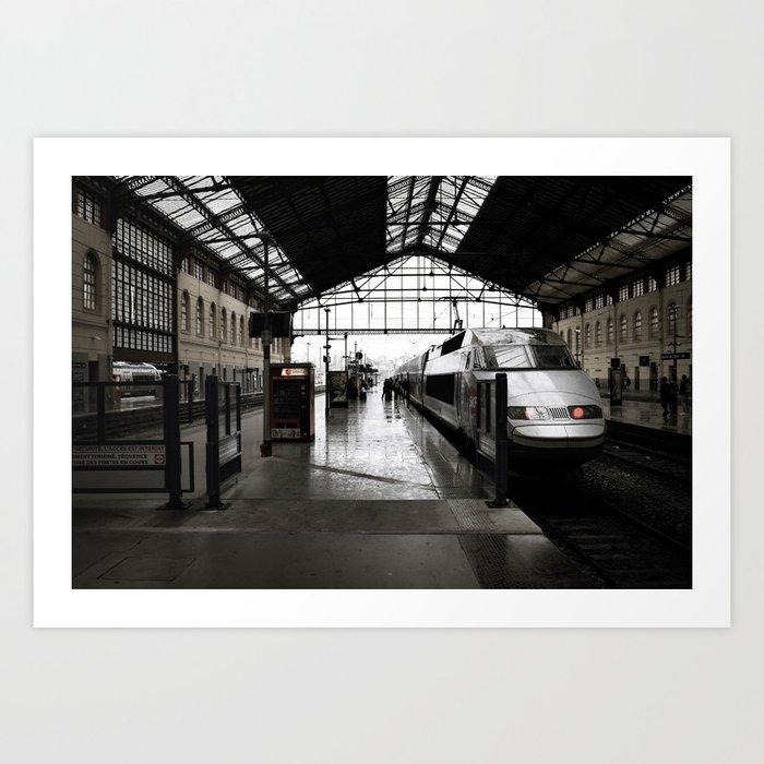 Gare de Marseille-Saint-Charles Art Print