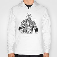 allyson johnson Hoodies featuring Dwayne 'The Rock' Johnson by Hollie B
