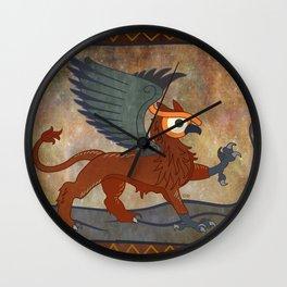 gr.eye.ffin Wall Clock